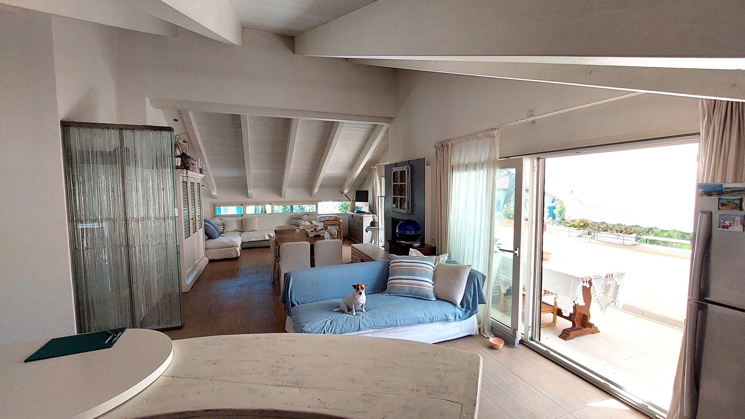 RICCIONE ABISSINIA, attico 3 camere, terrazzi e box doppio in vendita