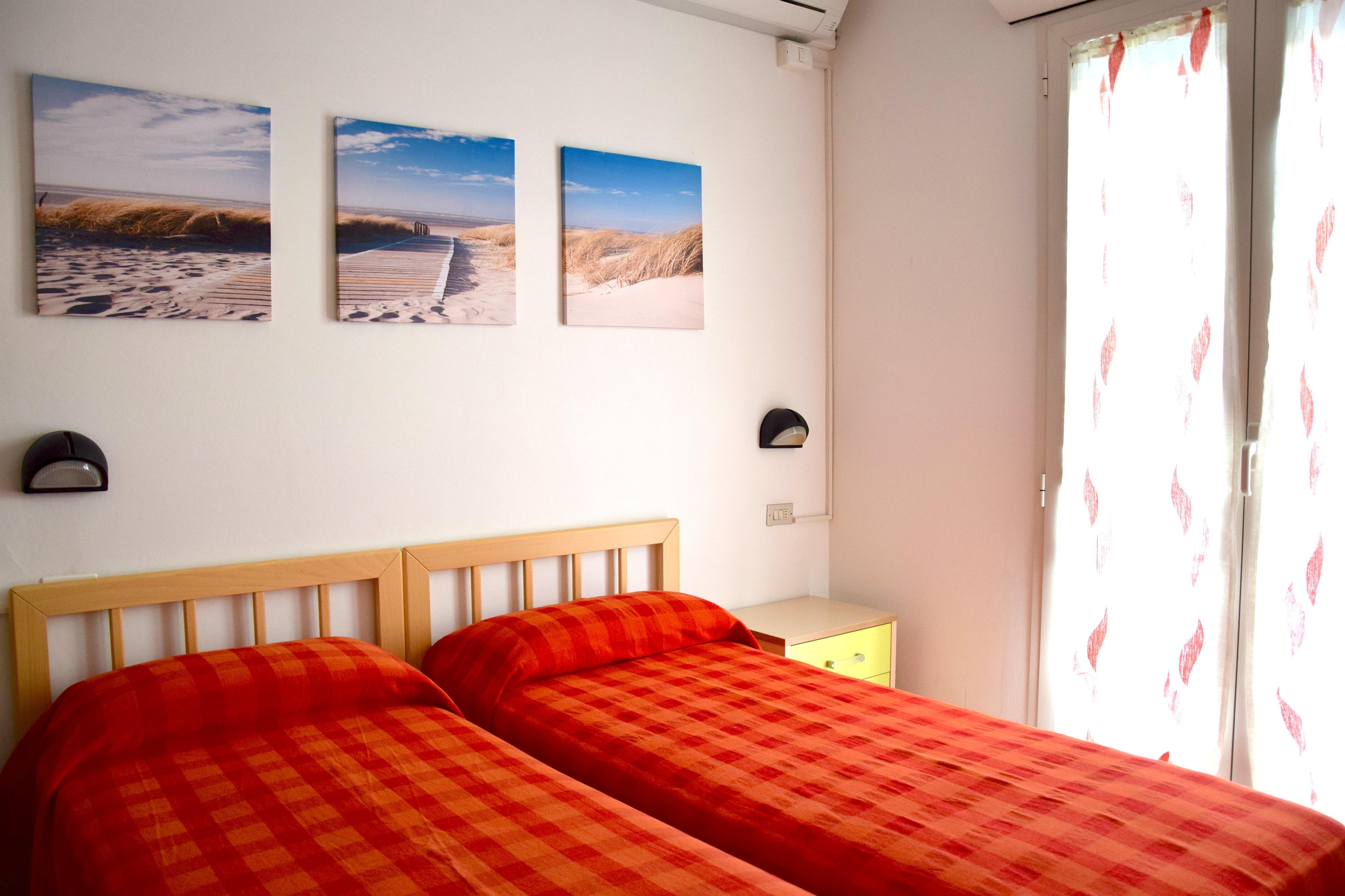 RICCIONE ABISSINIA, appartamento in affitto stagionale breve distanza dal mare