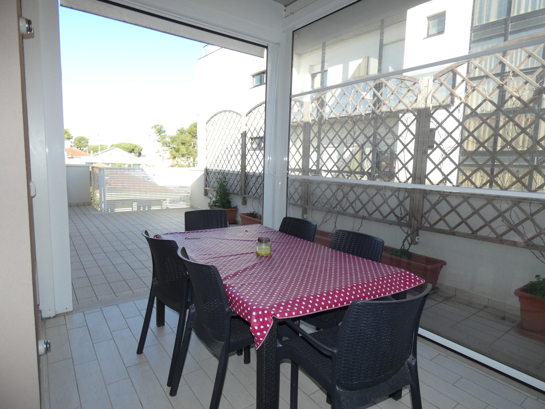 RICCIONE ABISSINIA, attico con splendido terrazzo in affitto  stagionale