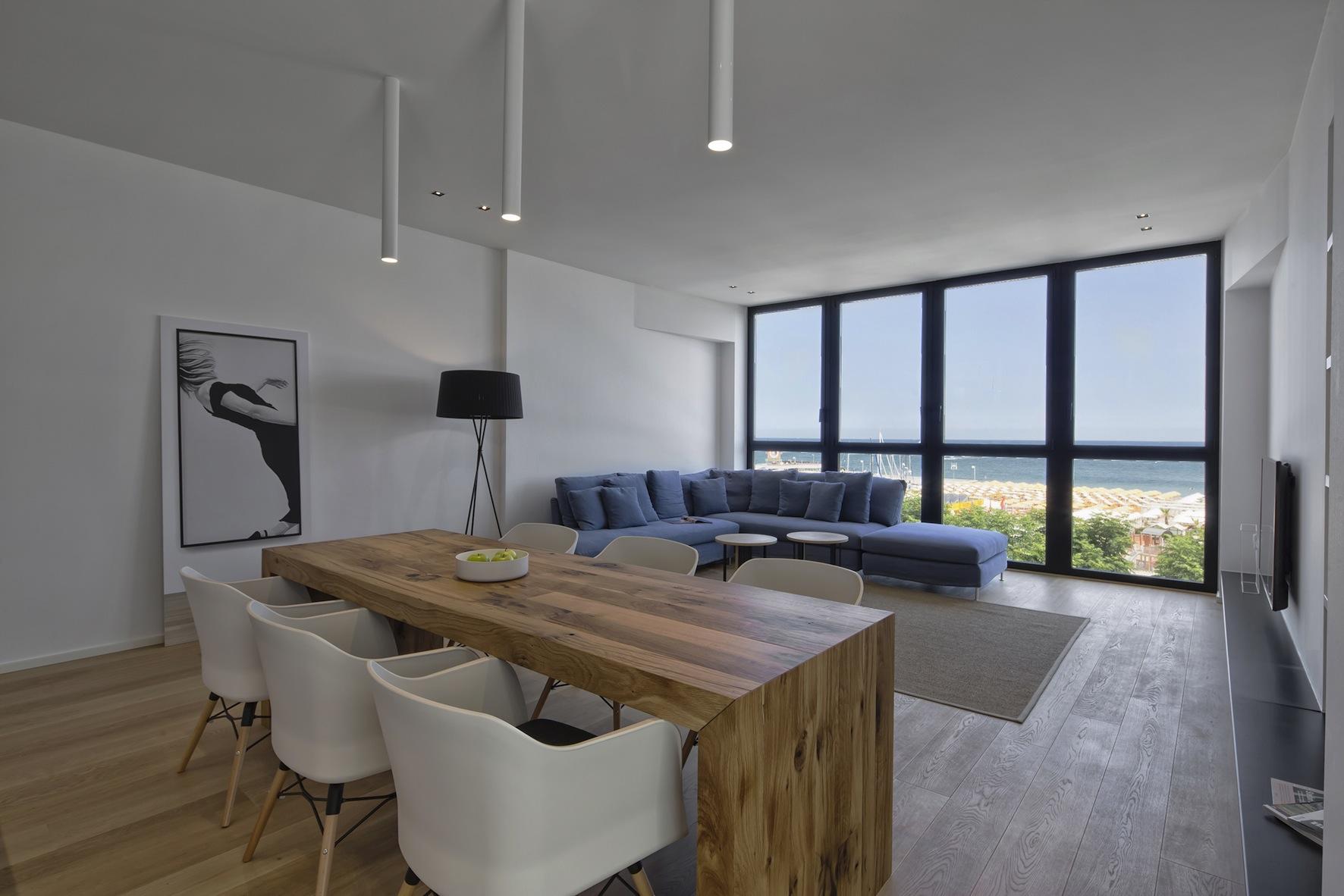 RICCIONE PORTO, Appartamento di design con splendida vista mare