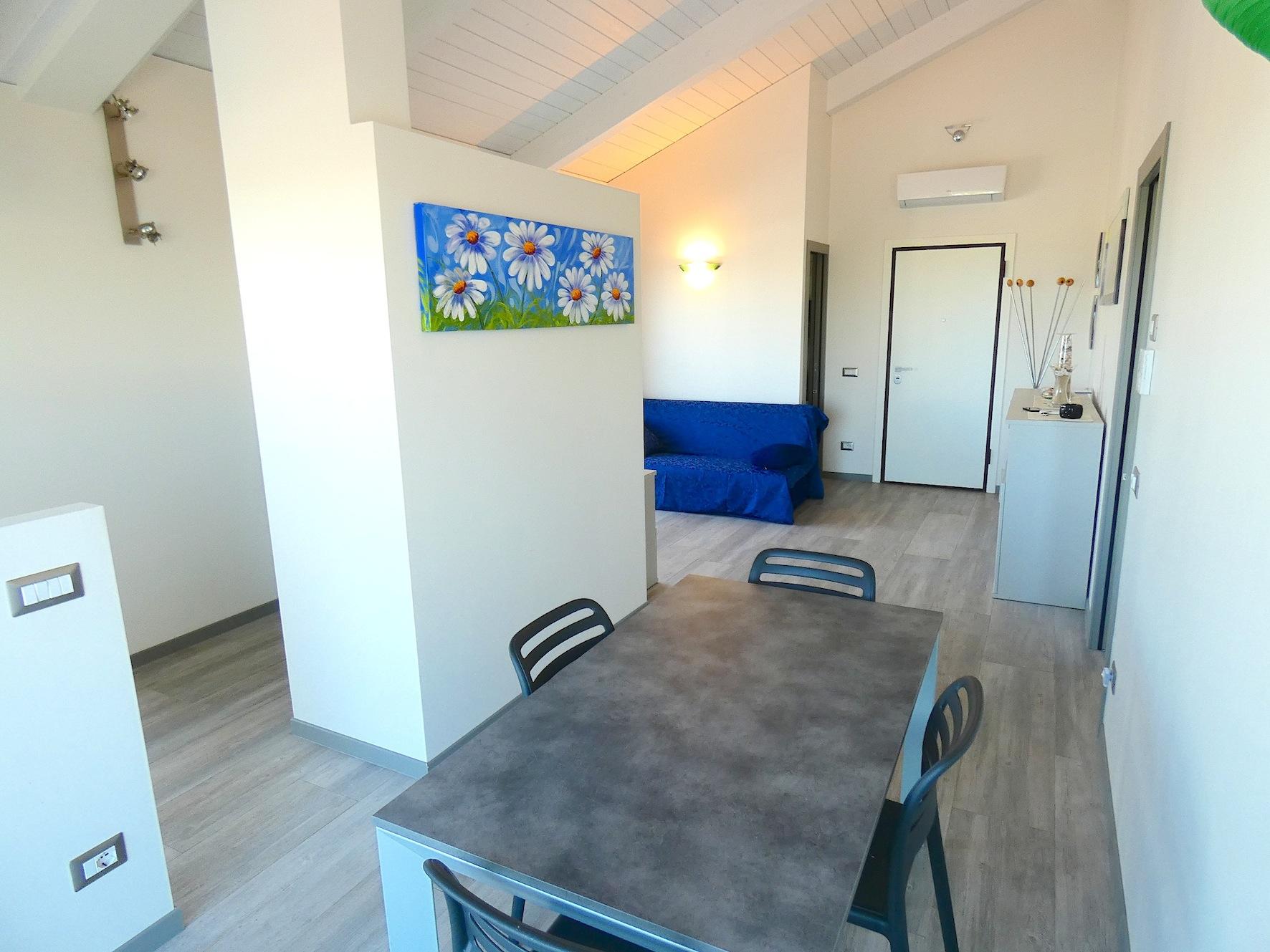 RICCIONE ABISSINIA/TERME, Splendido attico in vendita terrazzi vista mare