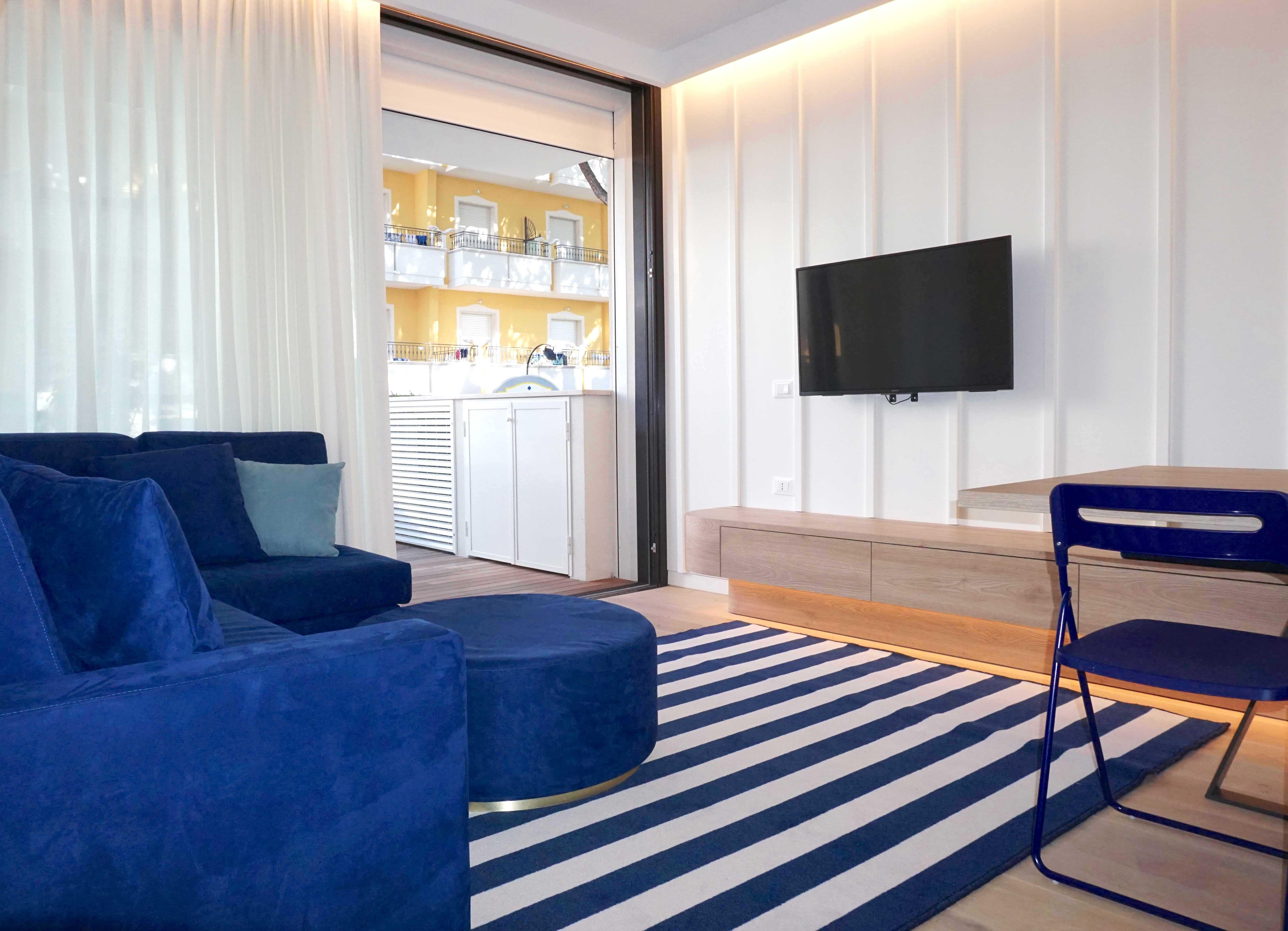 RICCIONE PORTO, Meraviglioso appartamento in affitto stagionale NUOVISSIMO