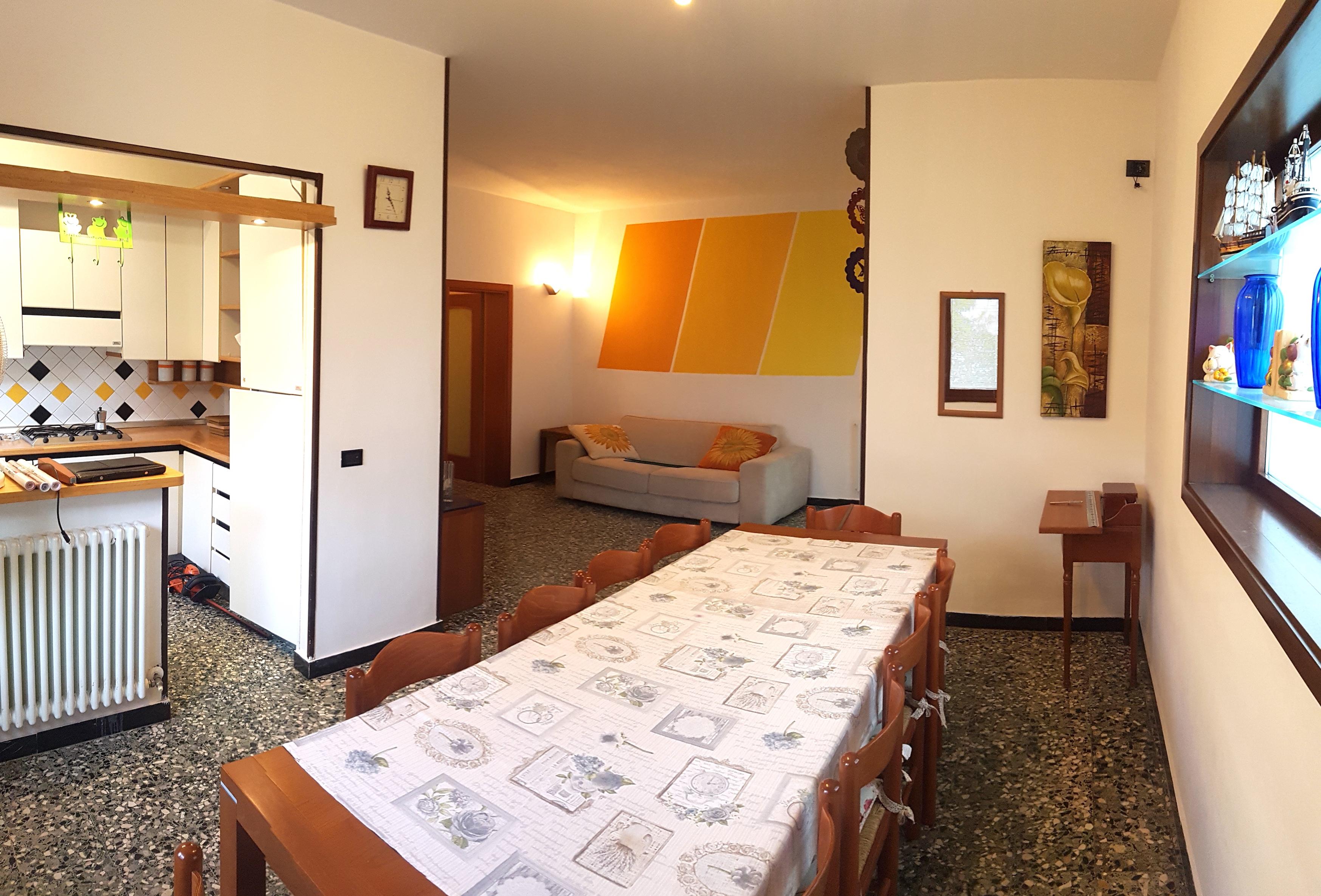 RICCIONE PARCO, ampio appartamento in villa in vendita