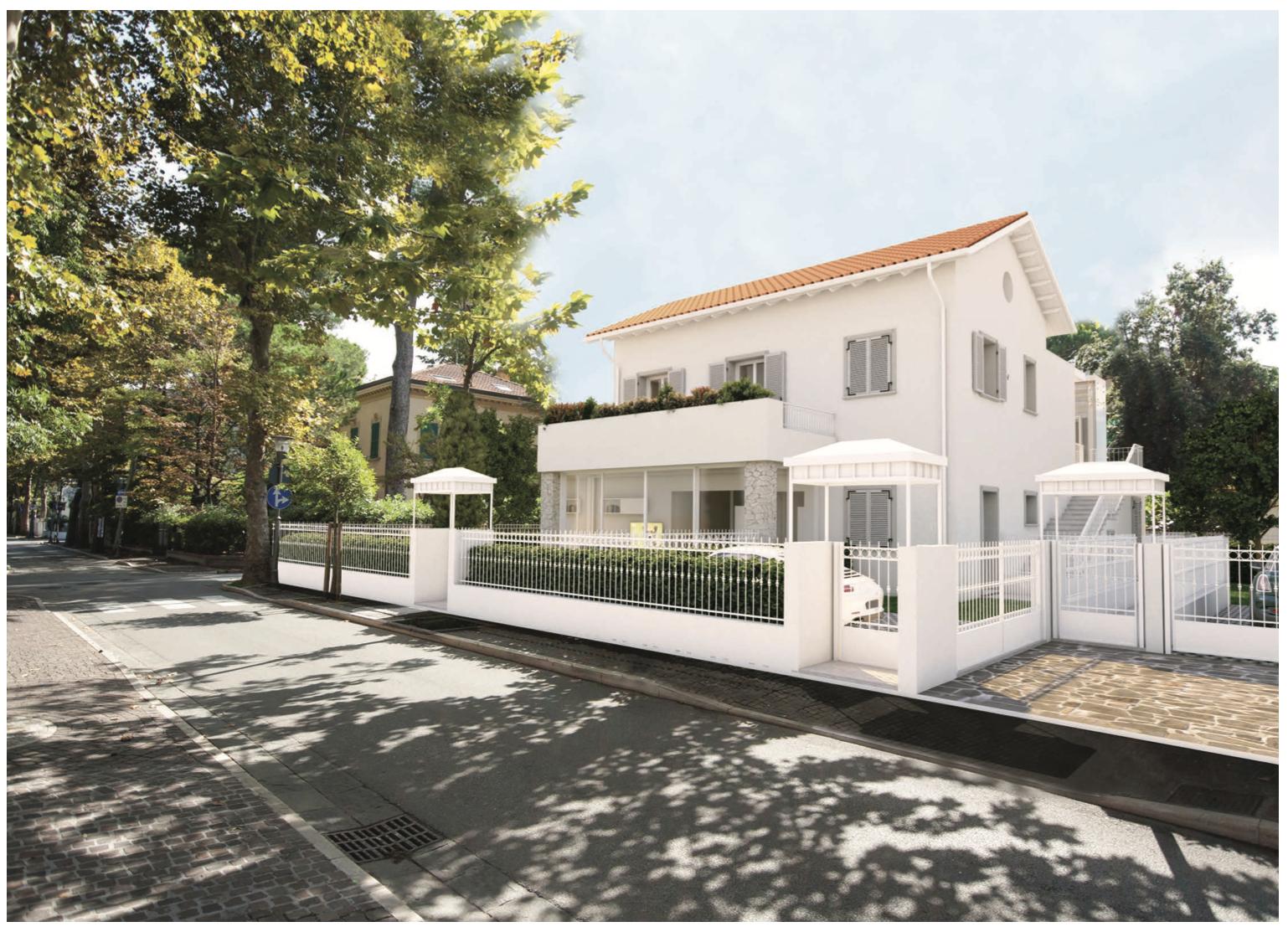 RICCIONE ABISSINIA, Appartamento Piano Terra in Villa