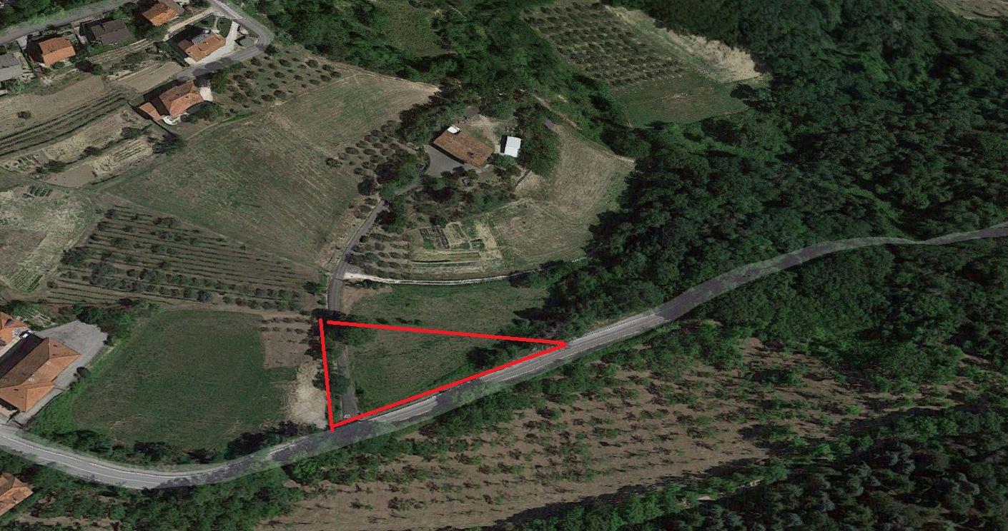 MONDAINO, terreno edificabile in vendita