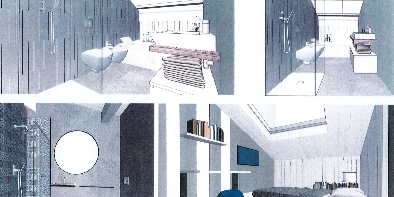 attico bagni e camera
