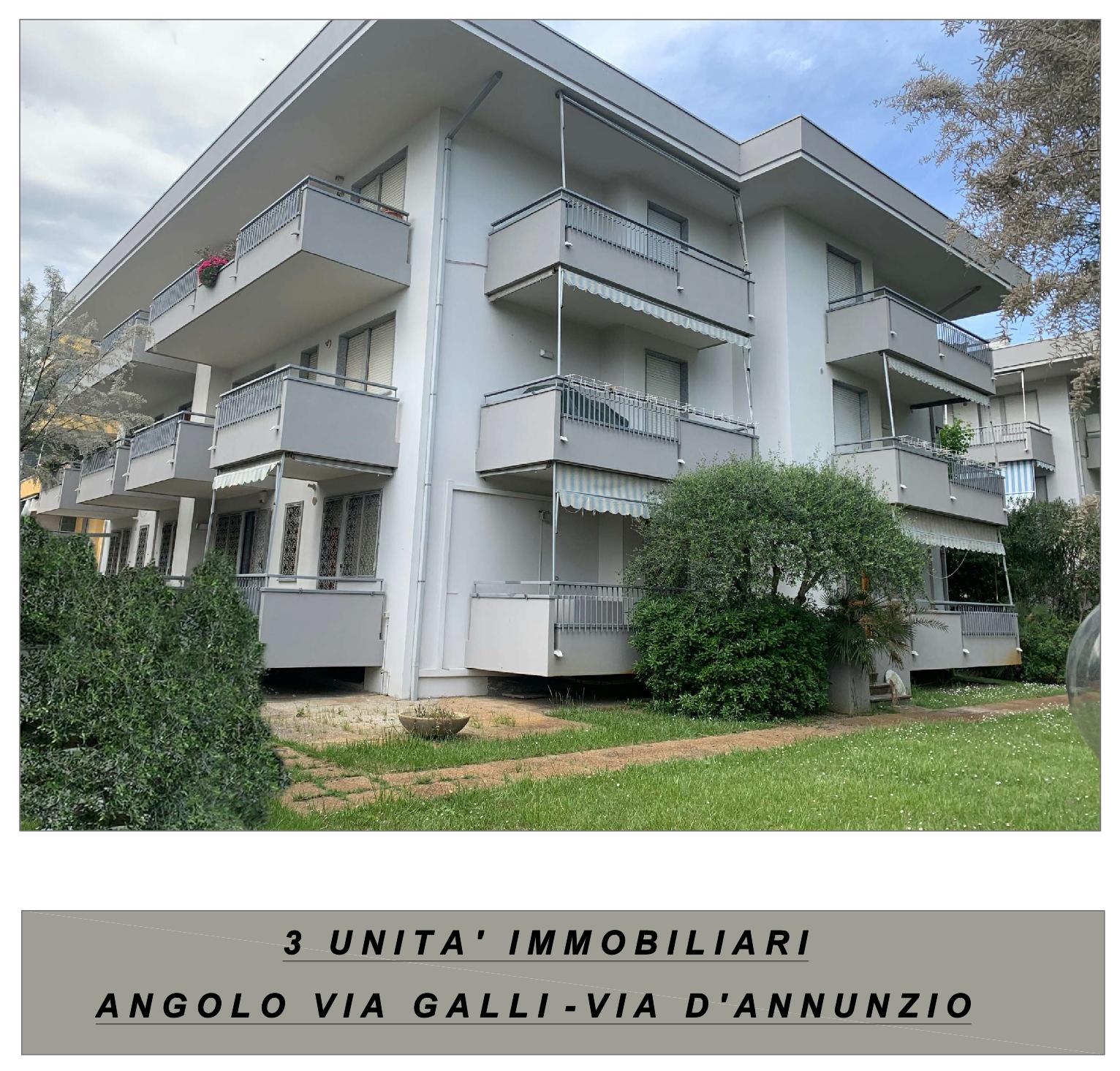 RICCIONE PORTO CANALE, 3 appartamenti con giardino nuovi in vendita