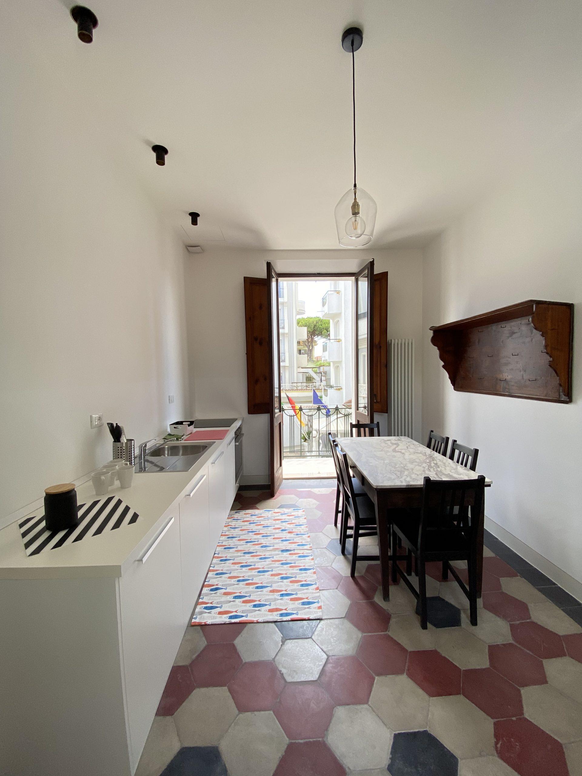 RICCIONE ABISSINIA, appartamento in villa PIANO PRIMO