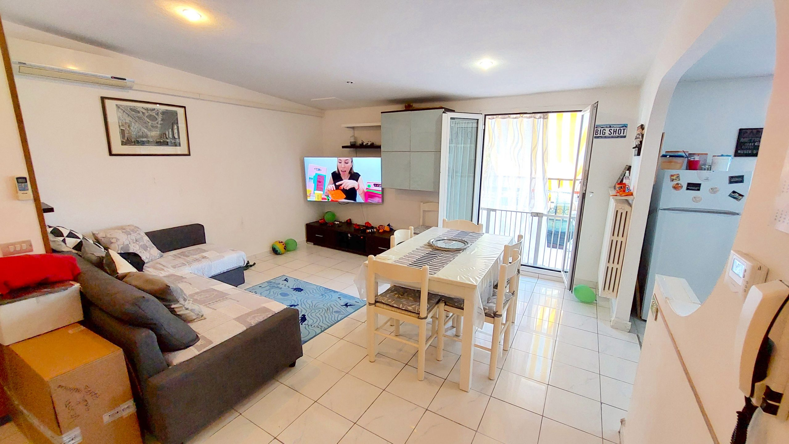 RICCIONE MARANO, ultimo piano 3 camere 2 wc e garage in vendita