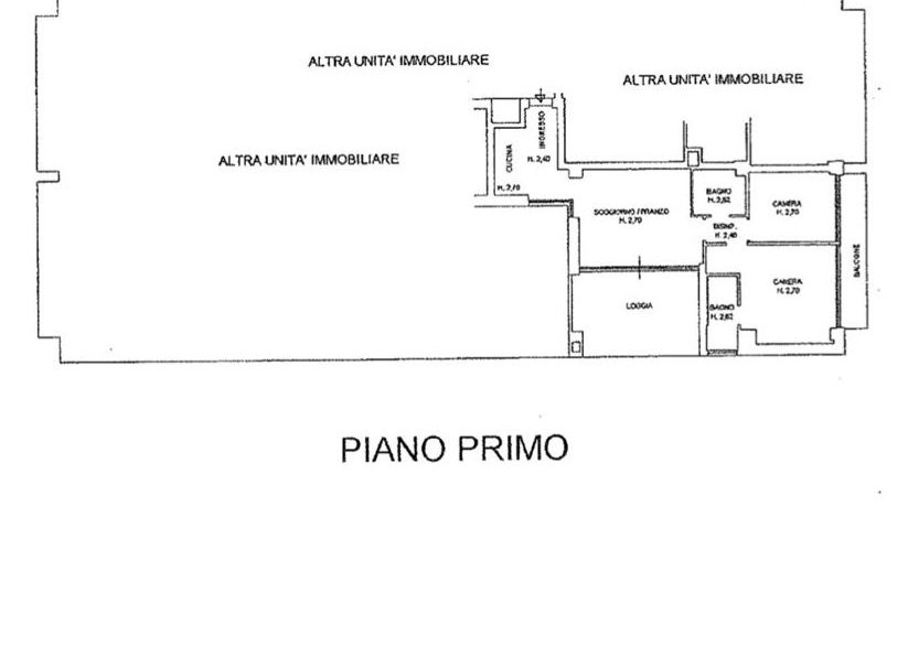 Planimetria Via Molari 5